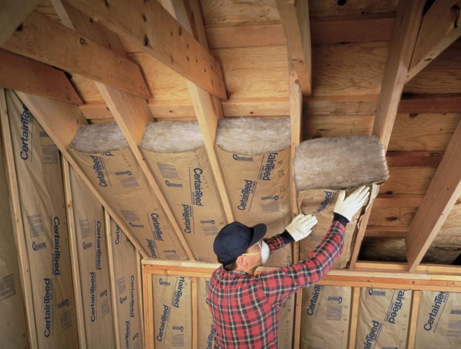 Потолок деревянного дома утеплить своими руками 23