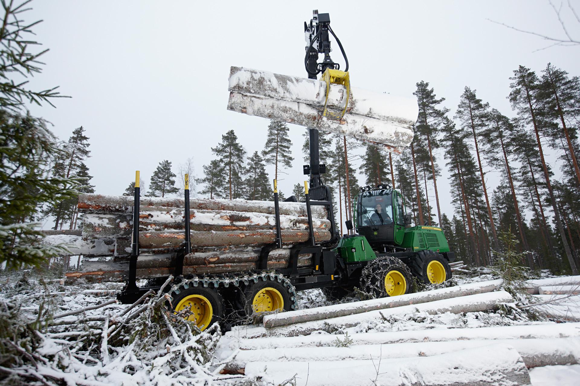 Картинки заготовка леса зимой